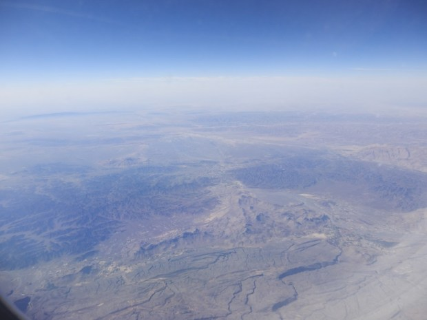 ABU DHABI TO MALE: FLYING OVER OMAN