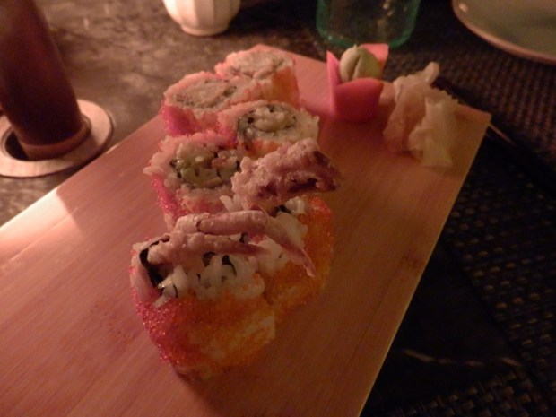 DINNER AT JAPANESE RESTAURANT TAI
