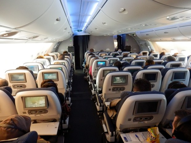 ECONOMY CLASS ON THE UPPER DECK
