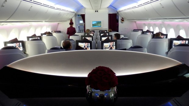 QATAR AIRWAYS B787 DREAMLINER BUSINESS CLASS