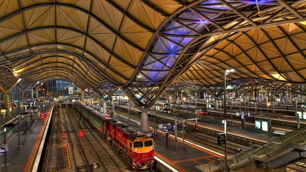 SOUTHERN CROSS STATION, MELBOURNE, AUSTRALIA