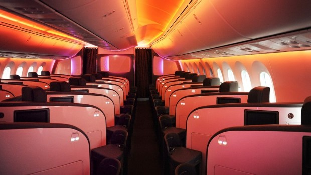 VIRGIN ATLANTIC BOEING 787-9 BUSINESS CLASS