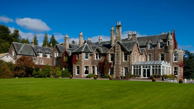CROMLIX HOUSE SCOTLAND, UNITED KINGDOM, OWNED BY ANDY MURREY