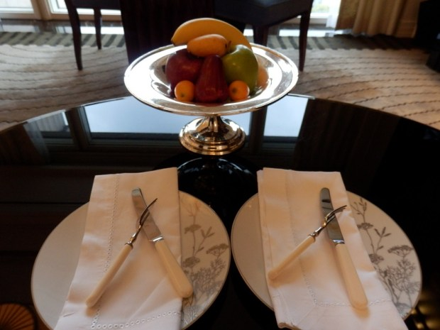 DELUXE RIVER ROOM: WELCOME AMENITIES