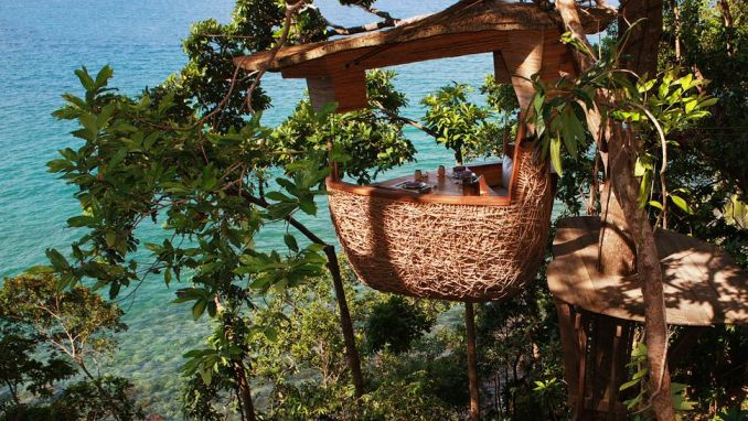 ENJOY FINE DINING ATOP A TREE AT SONEVA KIRI, THAILAND