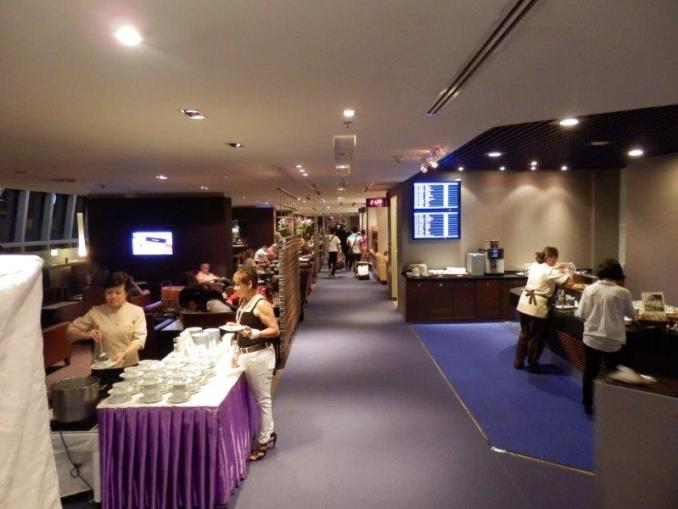 ROYAL SILK BUSINESS CLASS LOUNGE AT BANGKOK