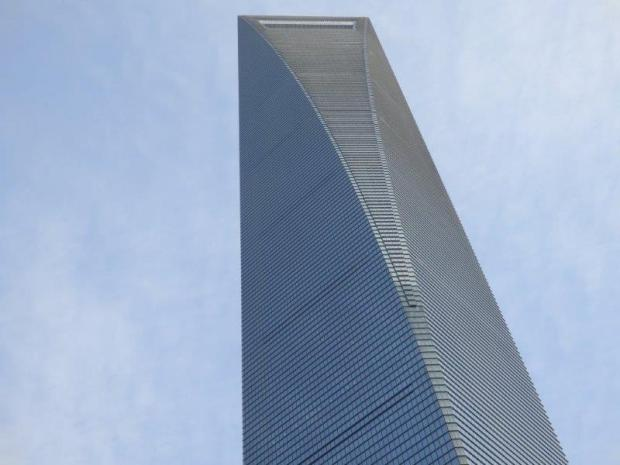 HOTEL IN HOUSED IN THE SHANGHAI WORLD FINANCIAL CENTER