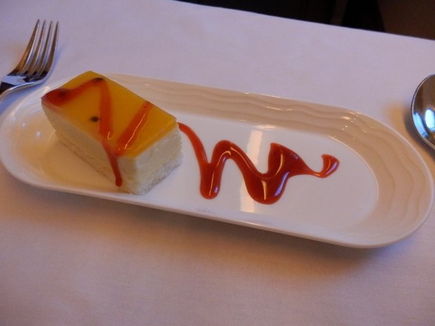 DESSERT: PASSION FRUIT TERRINE