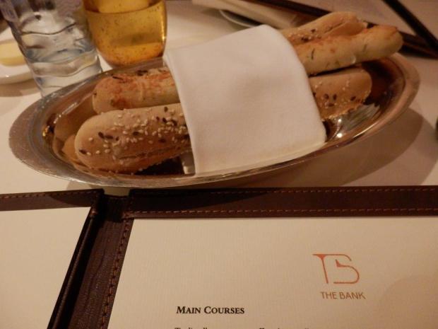 THE BANK RESTAURANT: DINNER