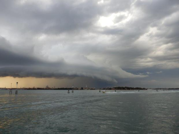 STORM CLOUDS ABOVE VENICE