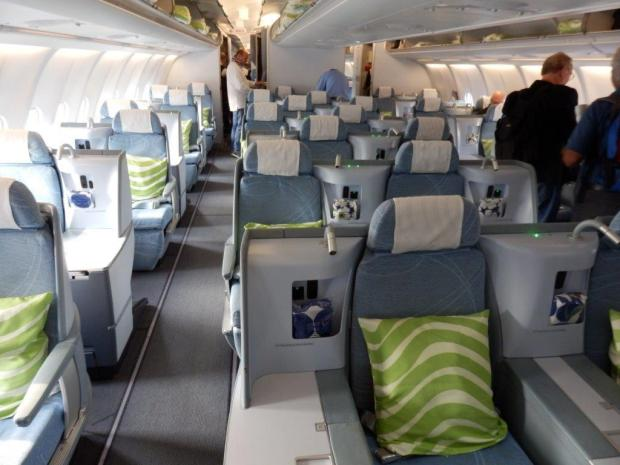 BUSINESS CLASS CABIN UPIN BOARDING