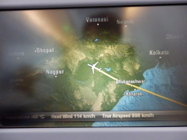 INFLIGHT ENTERTAINMENT SYSTEM: FLIGHT MAP