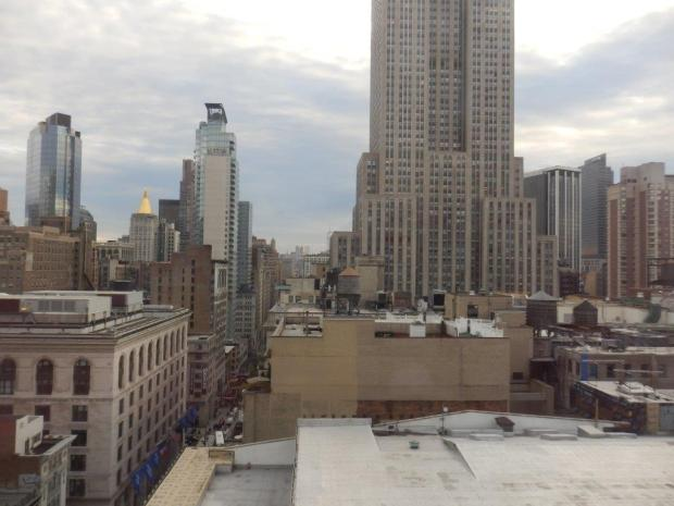 EMPIRE STATE VIEW SUITE: VIEW FROM ROOM