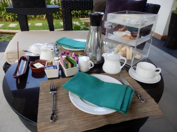 SPA SANCTUARY VILLA: AFTERNOON TEA