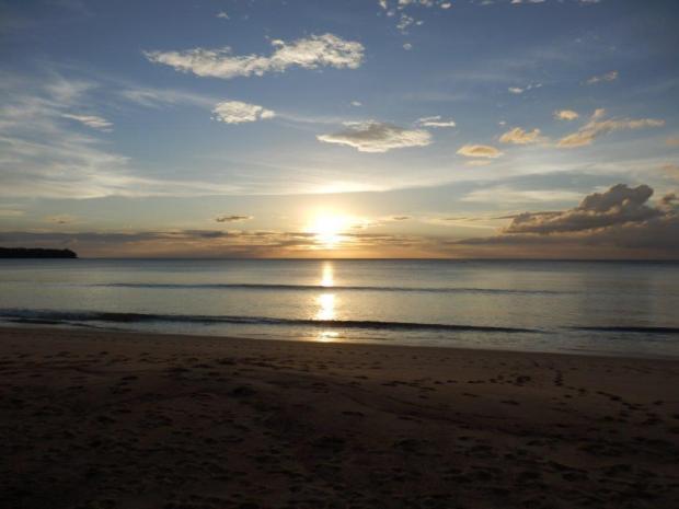 BANGTAO BEACH AT SUNSET