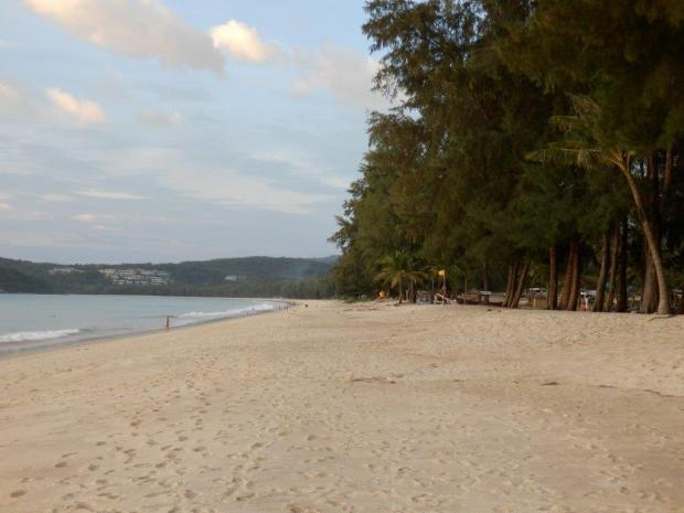BANGTAO BEACH AT SUNSET
