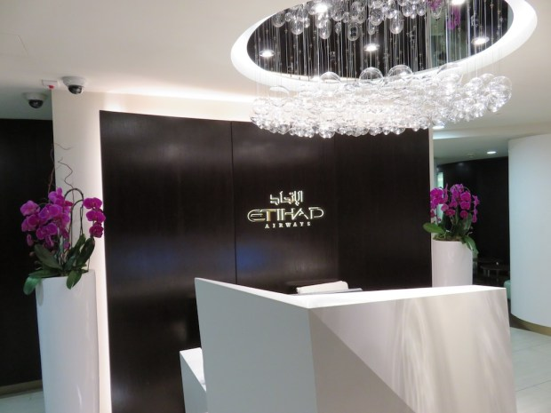 ETIHAD LOUNGE AT HEATHROW