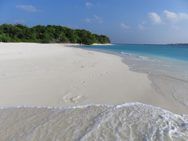 TURTLE BEACH ON THE ISLAND'S NORTHERN TIP