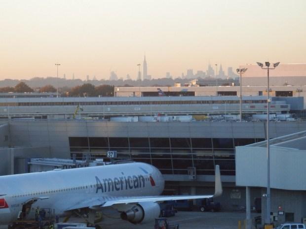 AA FLAGSHIP LOUNGE AT JFK AIRPORT