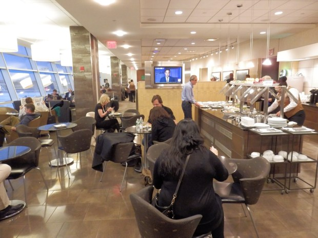 AA FLAGSHIP LOUNGE AT JFK AIRPORT