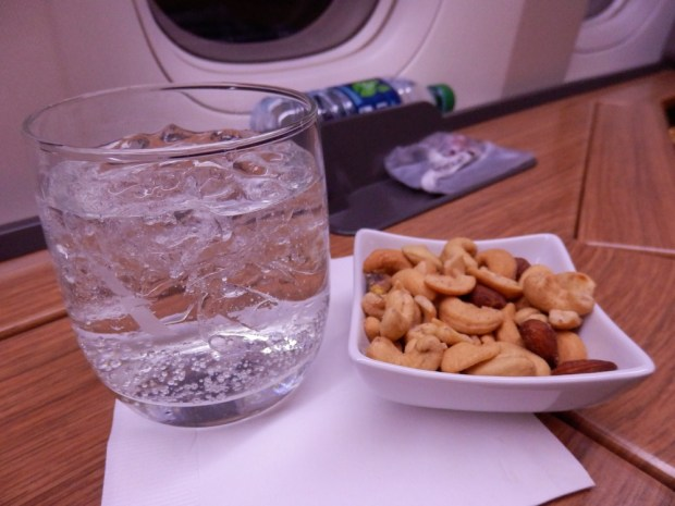 APERITIF WITH MIXED NUTS