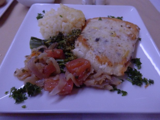 ENTREE: HALIBUT