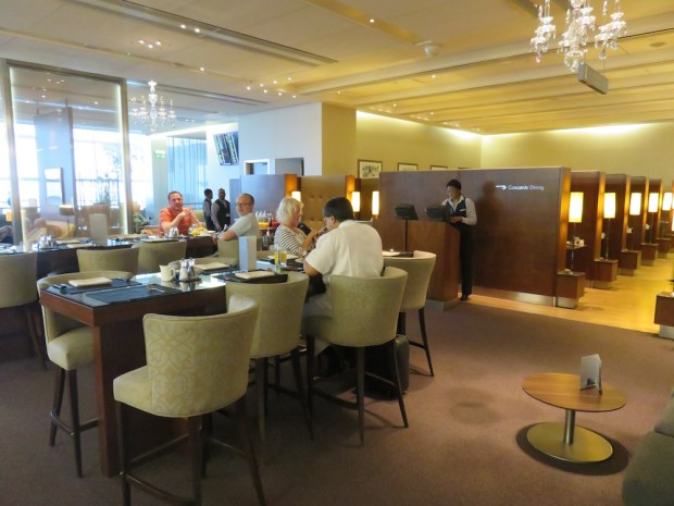 THE CONCORDE ROOM: RESTAURANT