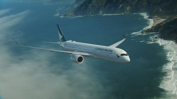 CATHAY PACIFIC A350
