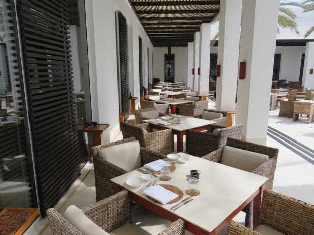 THE RESTAURANT: COURTYARD