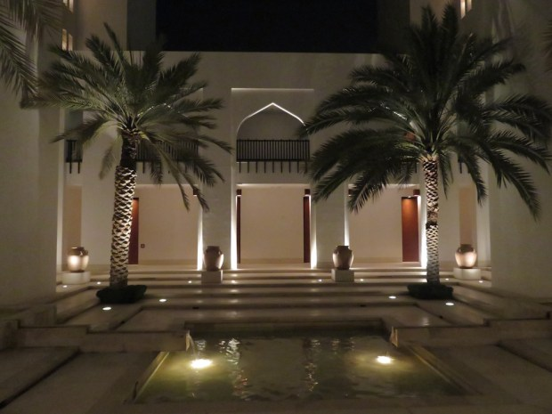 THE CHEDI MUSCAT AT NIGHT