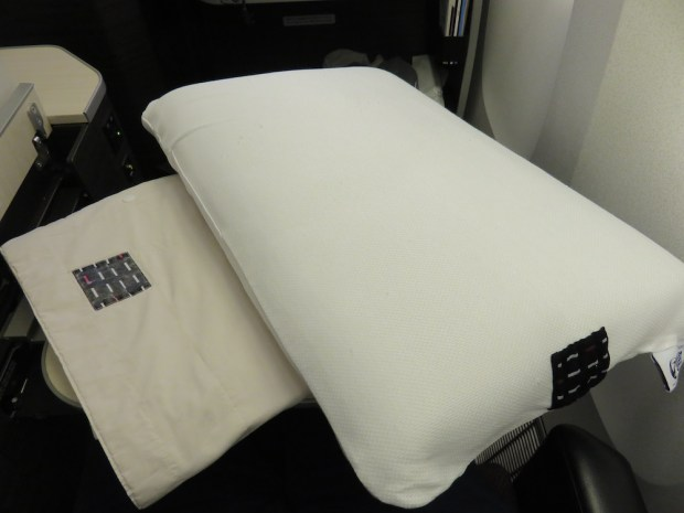 AMENITIES: PILLOW & BLANKET
