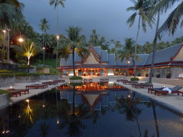 RESORT AT NIGHT