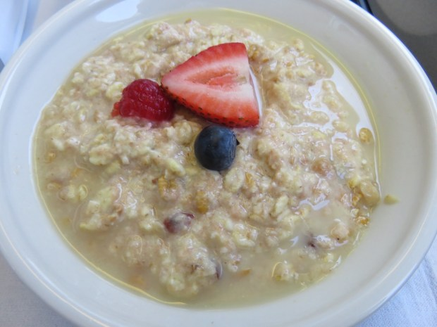 BREAKFAST: BIRCHER MUESLI