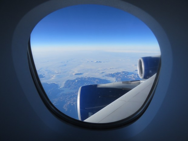 VIEW OVER GREENLAND