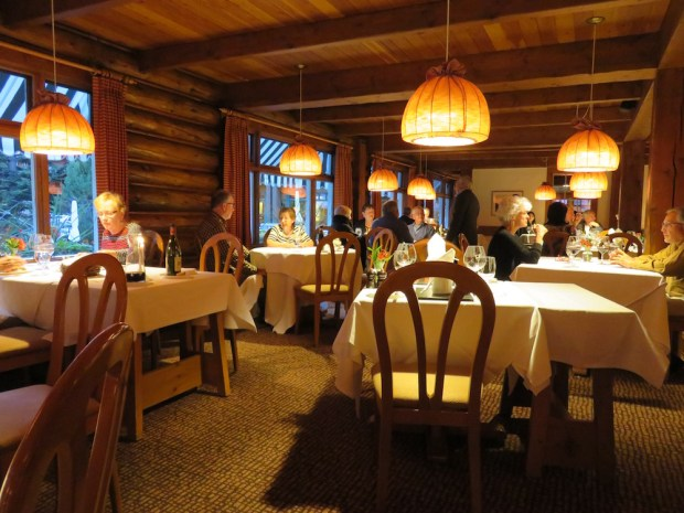 THE DINING ROOM: DINNER
