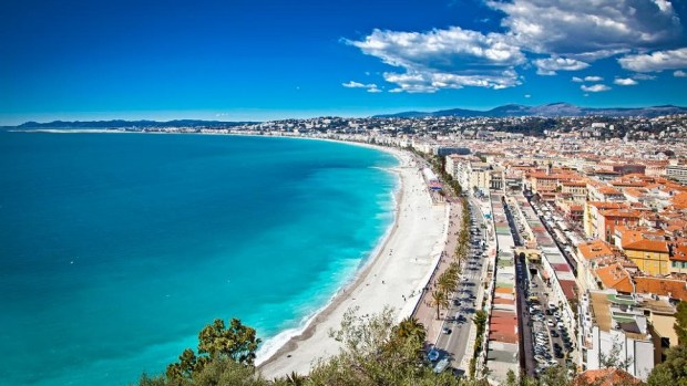 BAY OF ANGELS, NICE (FRANCE)