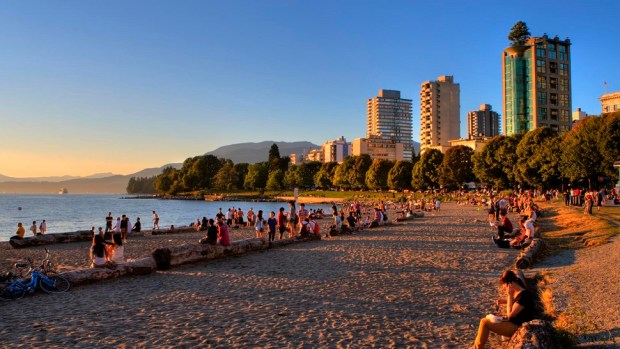 SUNSET BEACH, VANCOUVER (CANADA)