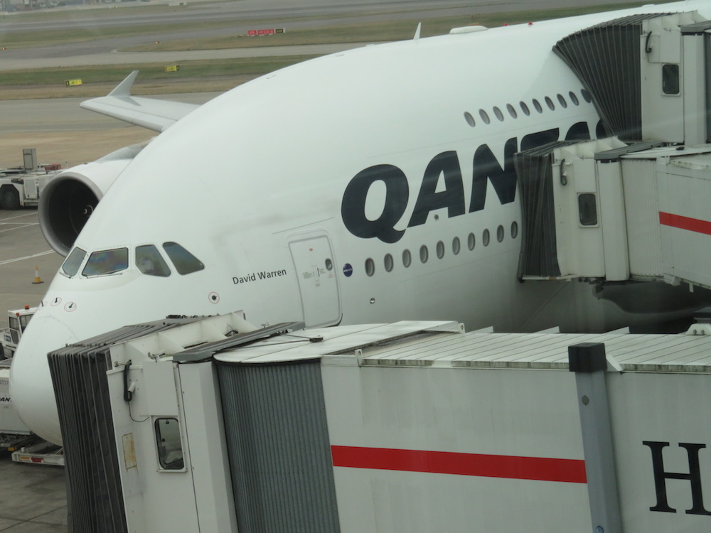 Review: Qantas A380 First Class from Dubai to London