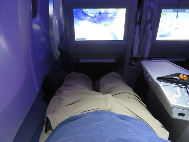 BUSINESS CLASS SEAT (BED POSITION)