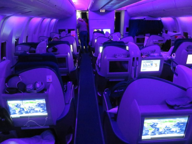 BUSINESS CLASS CABIN (MOOD LIGHTING)