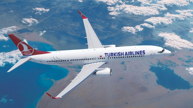 TURKISH AIRLINE BOEING 737-900