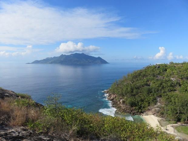 BIRD'S EYE VIEW OF THE ISLAND