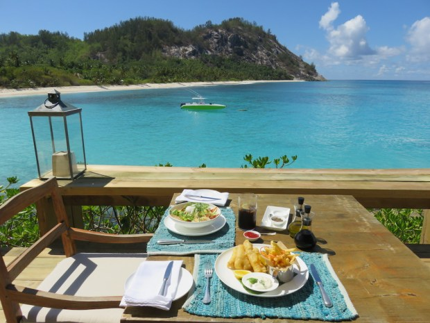 LUNCH ON THE POOL DECK