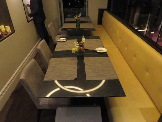 VIEW RESTAURANT: DINNER