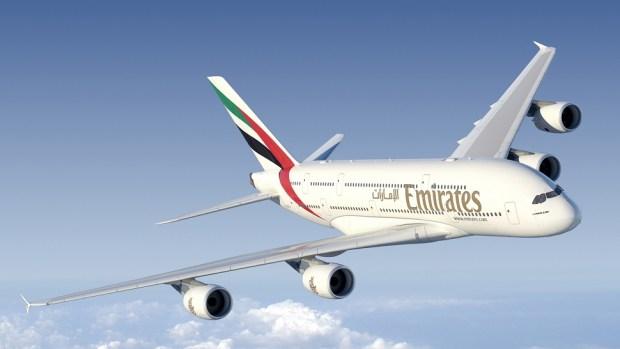 EMIRATES A380 - DUBAI TO HOUSTON