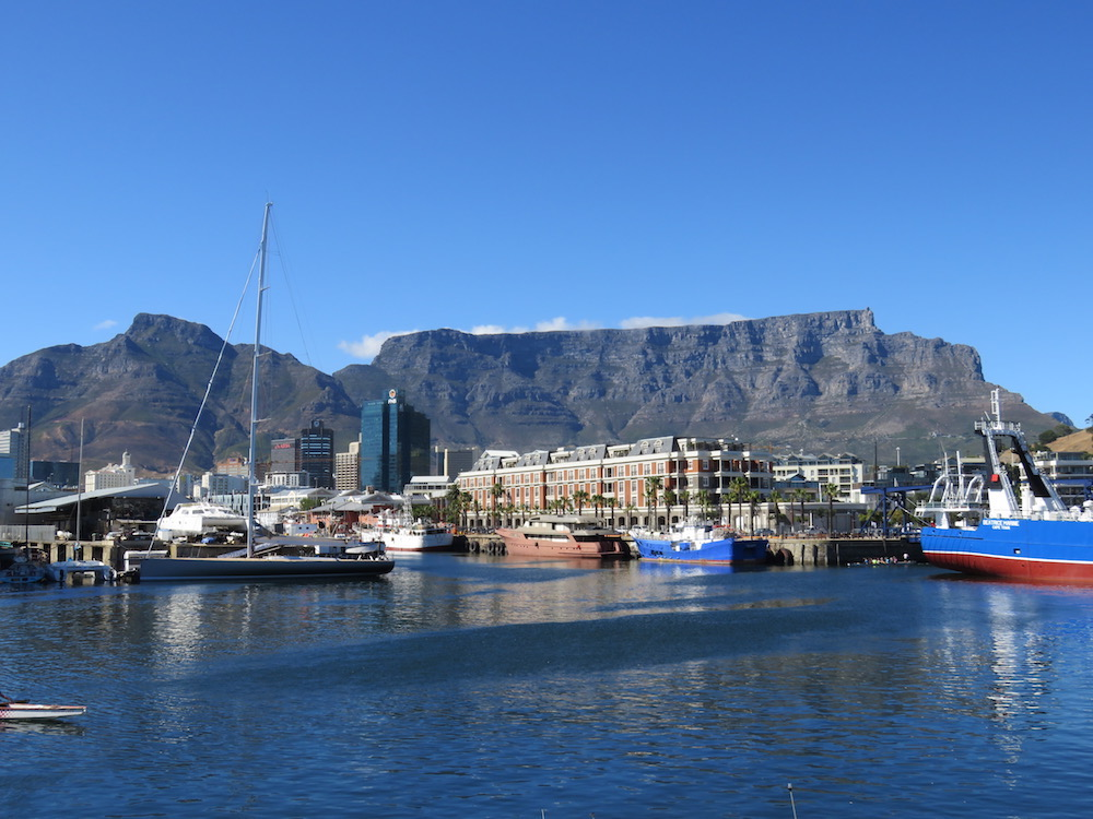 Hotel Review Cape Grace Cape Town South Africa The Luxury - Table mountain hotel cape town