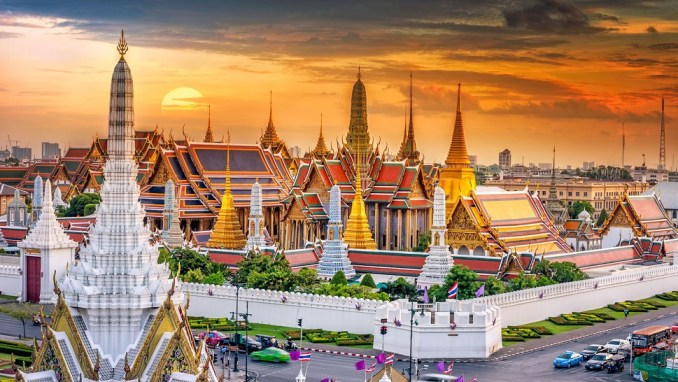 My dream destinations. The grand palace.