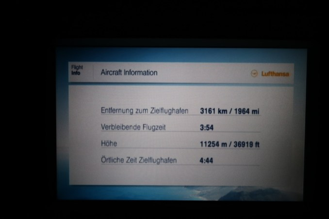 LUFTHANSA A330 INFLIGHT ENTERTAINMENT