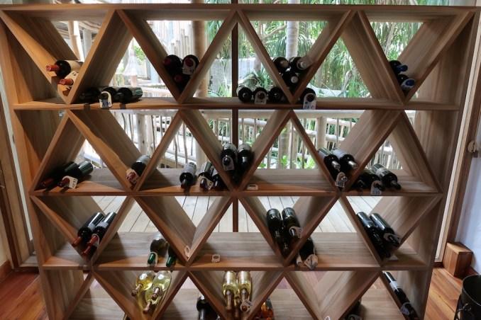 JUNGLE RESERVE: WINE CELLAR