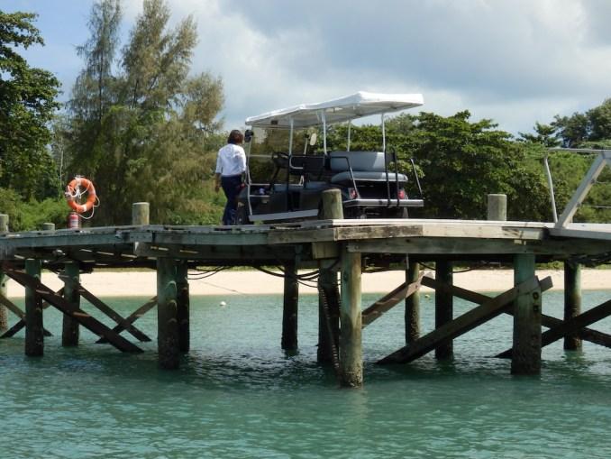 BOAT TRANSFER TO NAKA ISLAND: ARRIVAL JETTY